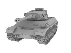 1/200 Panzer 3-4 in Smooth Fine Detail Plastic