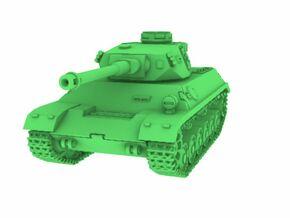 1/72 Panzer 3-4 in White Natural Versatile Plastic
