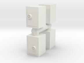 Safe (x4) 1/100 in White Natural Versatile Plastic