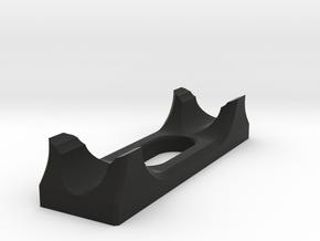 Sub model stand SHORT, 1/350 scale in Black Natural Versatile Plastic