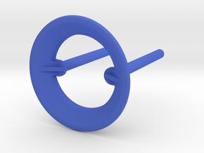 B-695-3U Rod & Ring - Classic Stern in Blue Processed Versatile Plastic