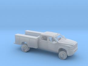 1/87 2020 Dodge Ram Crew Cab Utillity Kit in Smooth Fine Detail Plastic