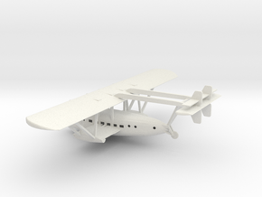 1/200 Scale Sikorsky S-40 1930 in White Natural Versatile Plastic