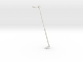 1/5 DKM 3.7cm Flak M42 Single Mount (Connection) in White Natural Versatile Plastic
