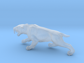 Smilodon in Smooth Fine Detail Plastic: 1:87 - HO