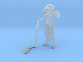 Darksiders Fury miniature DnD fantasy games rpg in Smooth Fine Detail Plastic