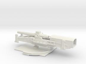 28cm l/40 bruno 1/285 6mm wood eub in White Natural Versatile Plastic
