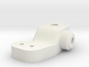 #SDRT10003 upright M2 trike 1.0 SDR in White Natural Versatile Plastic