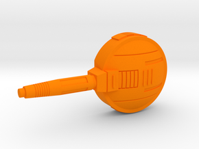 Starcom Shadow Upriser Cannon 01 in Orange Processed Versatile Plastic