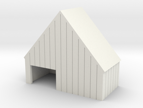 N large commisary facade model in White Natural Versatile Plastic