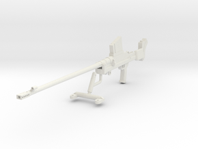 1:18 Boys Anti-Tank Rifle Mark I* in White Natural Versatile Plastic