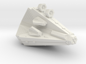3788 Scale Tholian Heavy War Destroyer (PF Tender) in White Natural Versatile Plastic