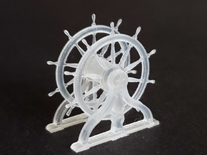 1/96 Ship's Wheel (Helm) for USS Constitution in Smoothest Fine Detail Plastic