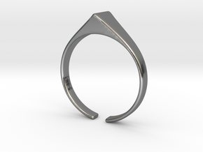 Langlifis ok heila ring in Polished Silver