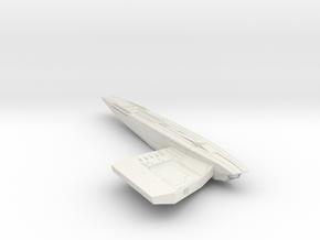 2500 Malachowiski Class Right Warp in White Natural Versatile Plastic