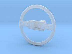 Mid 80s Yota Steering Wheel in Smooth Fine Detail Plastic