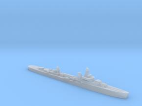 French cruiser Émile Bertin c1942 1:4800 WW2 in Smooth Fine Detail Plastic