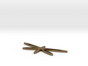 DragonflyBracelet in Polished Bronze