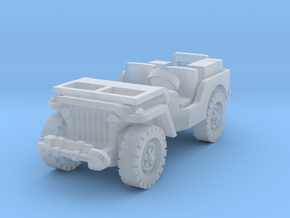 Jeep airborne (radio) 1/120 in Smooth Fine Detail Plastic