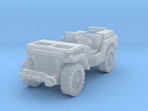 Jeep airborne (radio) 1/200 in Smooth Fine Detail Plastic