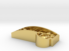 Part11 add on for soundboard cover in Polished Brass