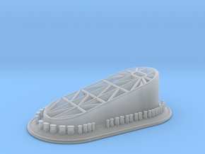 1/350 DKM Tirpitz Funnel Cap in Smooth Fine Detail Plastic