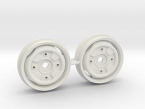 Stahlfelgen 13 Zoll Trabant in White Natural Versatile Plastic