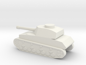 Panzer IV 1I160 in White Natural Versatile Plastic