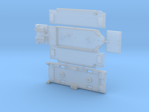 ATSF 8500 gallon tender in Smoothest Fine Detail Plastic