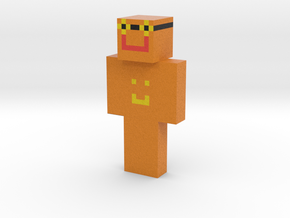 OrangePixelGames | Minecraft toy in Natural Full Color Sandstone