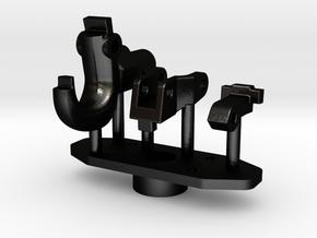 Armee-Haken-Kupplung NVA in Matte Black Steel