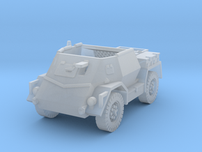 Pattern Wheeled Carrier Mk2 1/160 in Smooth Fine Detail Plastic