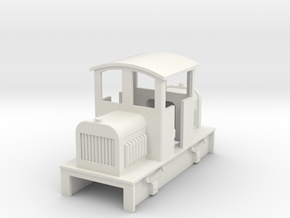 OO9 Cheap and Easy Diesel Centercab  no1 in White Natural Versatile Plastic