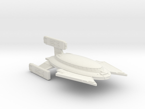 3788 Scale Vudar Heavy Cruiser (CA) MGL in White Natural Versatile Plastic