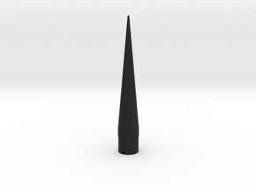 Classic estes-style nose cone BNC-50AR replacement in Black Strong & Flexible