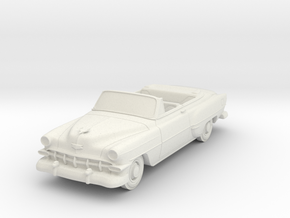 1954 Chevy 210 Convertible in White Natural Versatile Plastic