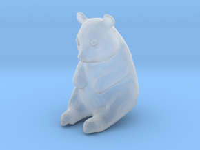 HO Scale Giant Panda in Smooth Fine Detail Plastic