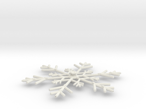 3125 Scale North Polar Snow Command Cruiser SRZ in White Natural Versatile Plastic
