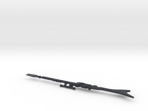 """The Mandalorian"" Rifle (1:6 Scale) in Black PA12"
