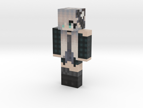 wolf_girl | Minecraft toy in Natural Full Color Sandstone