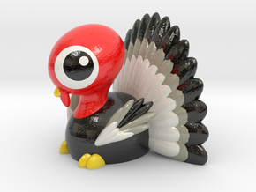 THANKSGIVING TURKEY in Glossy Full Color Sandstone