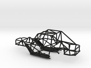 SCX24 Micro Shark Frame in Black Natural Versatile Plastic