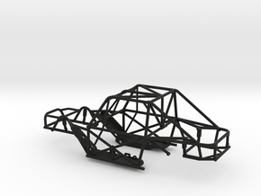 SCX24 Micro Shark Frame in Black Natural Versatile Plastic