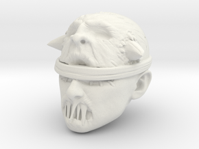 The Voodoo Priest in White Natural Versatile Plastic