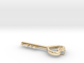 Love Key in 14K Yellow Gold