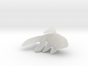 Wiggling Goldfish in Smooth Fine Detail Plastic