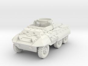M20 Command Car mid 1/72 in White Natural Versatile Plastic