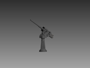 45mm 85cal 1/72 set of 2 in Smooth Fine Detail Plastic