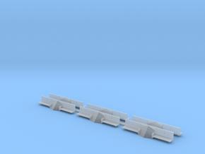 (HO) CNR GE 70 Tonner Pilot Block & Footboards in Smoothest Fine Detail Plastic