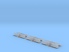 (HO) CNR GE 70 Tonner Pilot Block & Footboards in Smoothest Fine Detail Plastic